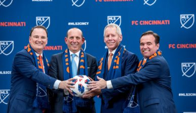FC Cincinnati to join MLS as next expansion team