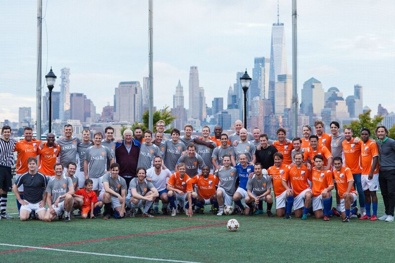 Three teams in first place, NYDL FC All Stars played their annual games