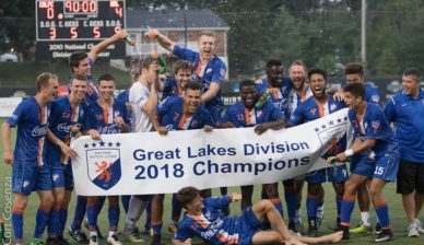 Dayton Dutch Lions FC 2018 Great Lakes Conference Champions!