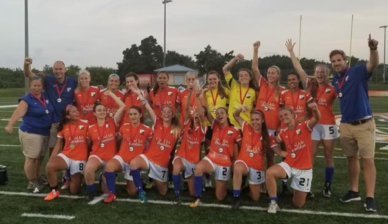 FGCDL FC Women's team clinch 2018 Sunshine Conference Championship!