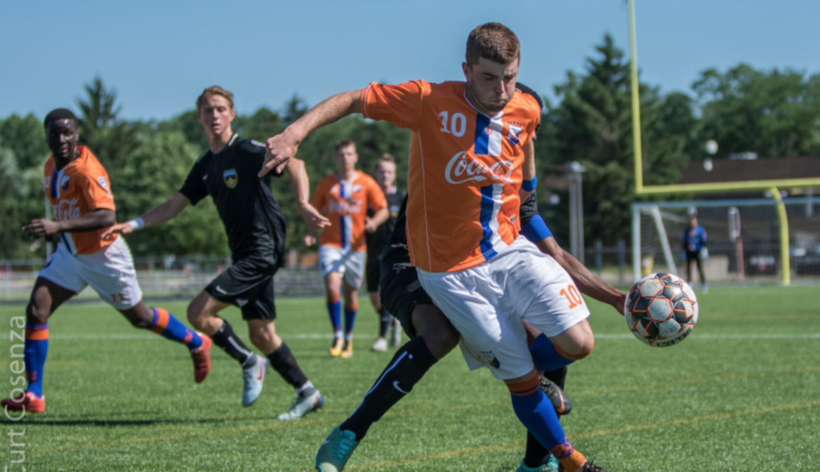 DDL's Tate Robertson selected in 2018 USL PDL National Best XI team