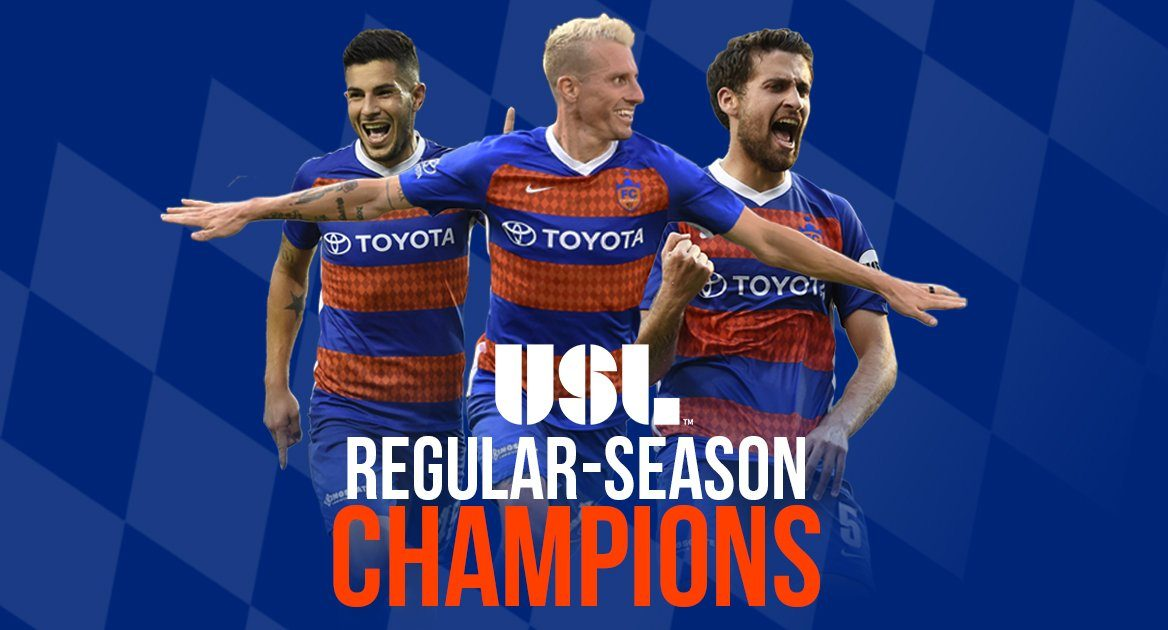 FC Cincinnati clinches 2018 USL Regular Season Championship