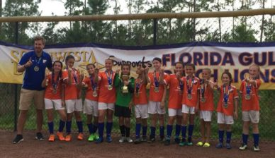 FGCDL FC U12G wins Publix Labor Day CUP