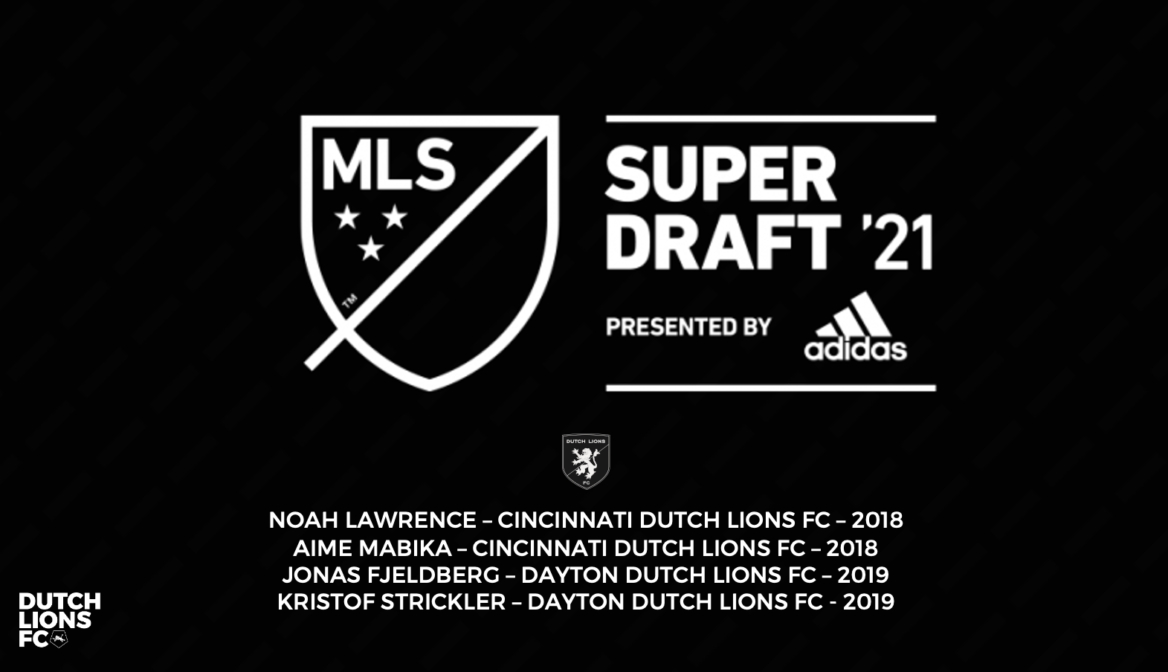 Four former Dutch Lions FC players drafted in 2021 MLS SuperDraft