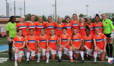 Season openers – Washington Dutch Lions FC wins inaugural game